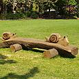 'Snail Bench' Worthington Park, Sale, Cheshire
