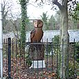 Large Stylised Tawny Owl