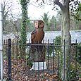 Large Stylised Tawny Owl