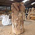 Oak centrepiece