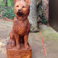 Memorial for a much-loved dog