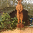A Very Large Meercat - over seven feet tall