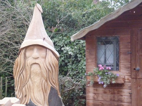 Large Wizard Head