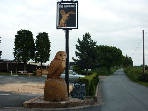 Large Barn Owl, The Barn Owl Inn, Warrington Lane, Lymm, Cheshire WA13 0SW
