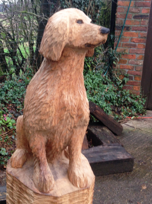 A much love Dog memorial
