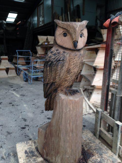 Stylised Eagle Owl