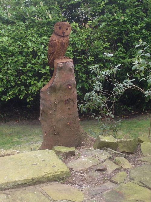 Stylised Tawny Owl