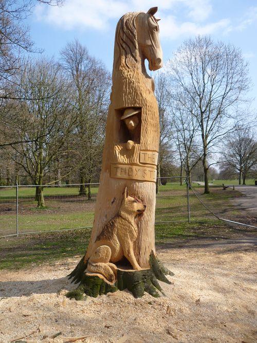 Dickin Medal Memorial, Woodbank Memorial Park, Stockport