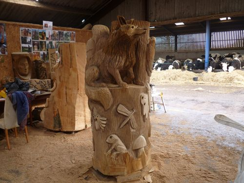 Partington Chainsaw Sculpture