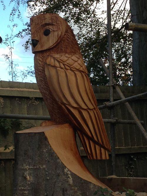 Stylised  Barn Owl
