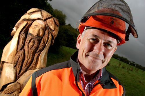 'The Green Man of Reddish Vale'