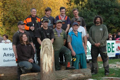 The competitors at Seeburg- See , Germany, 2008.